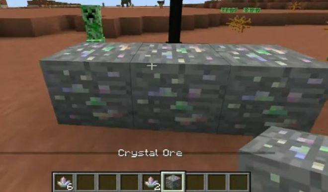 Electroblob's Wizardry Mod crystal ore