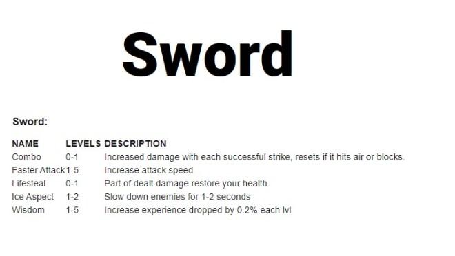Ma enchants sword