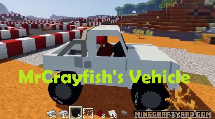 MrCrayfish's Vehicle Mod 1.15.2/1.14.4