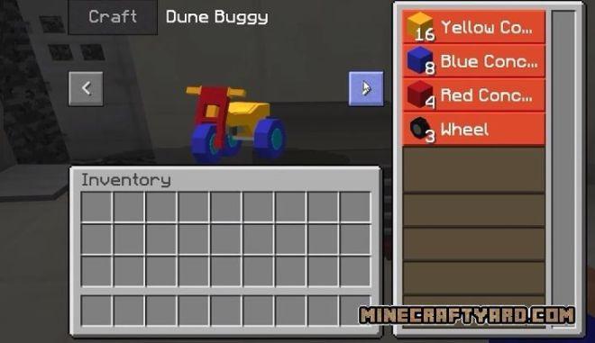 MrCrayfish's Vehicle craft dune buggy