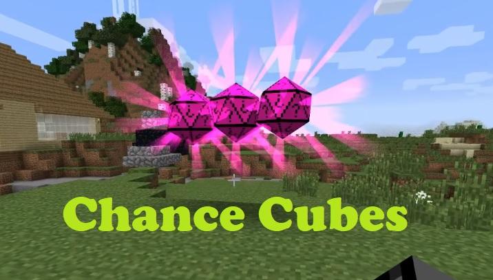 Chance Cubes Mod 1.16.5/1.15.2