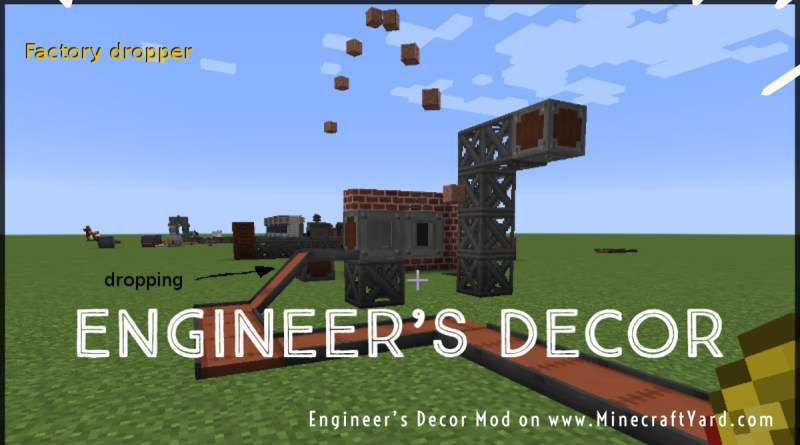 Engineer's Decor Mod 1.16.5/1.15.2