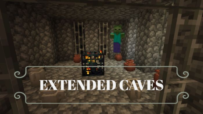 Extended Caves Mod 1.16.4/1.15.2