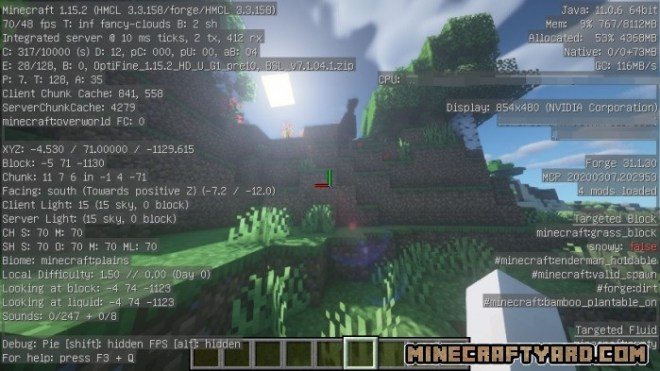 Optifine with Forge Compatible