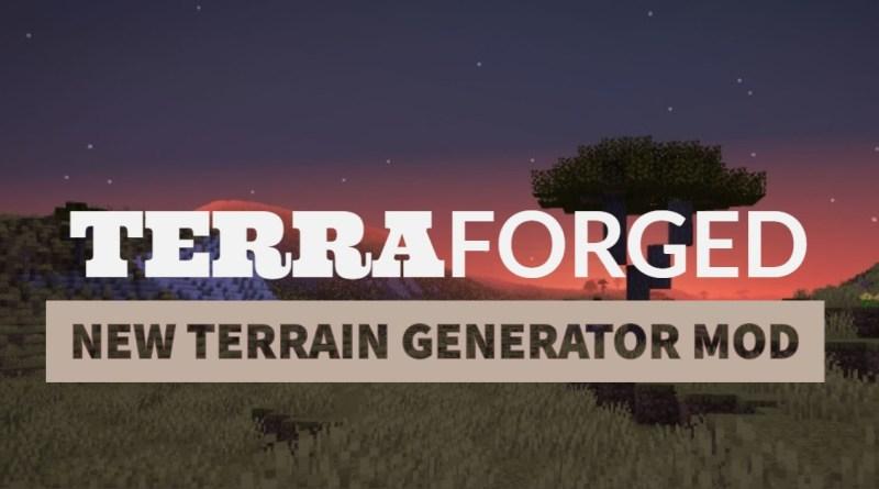 TerraForged Mod 1.16.5/1.15.2