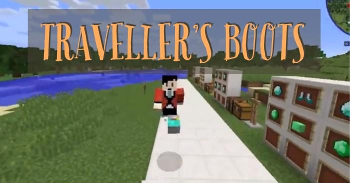 Traveller's Boots 1.16.4/1.15.2