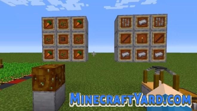 Harvest Sprites Mod crafting