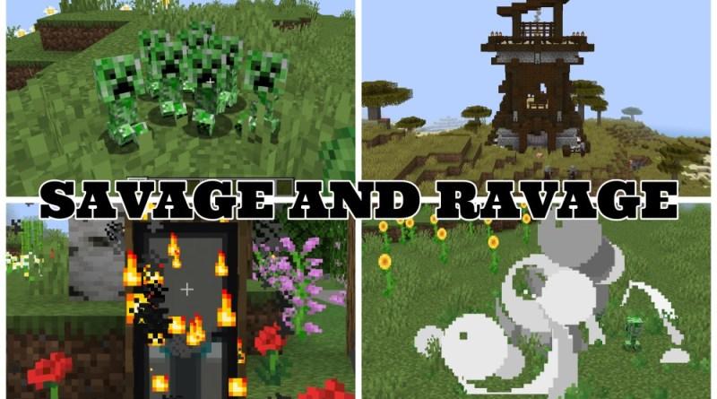 Savage and Ravage 1.16.5/1.15.2