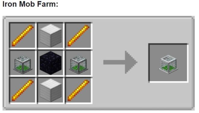Tiny Mob Farm Mod Iron Mob Farm