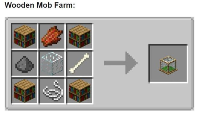 Tiny Mob Farm Mod Wooden Mob Farm