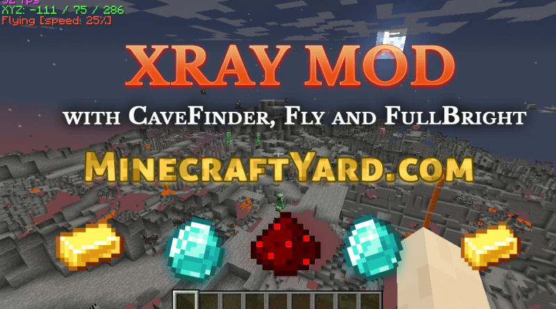 Xray Mod 1 16 3 1 15 2 1 14 4 1 12 2 Official Minecraft Download