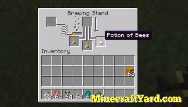 Potion of Bees Mod 1