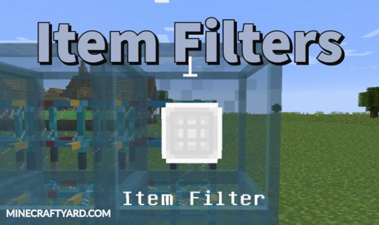 Item Filters Mod 1.16.3/1.15.2