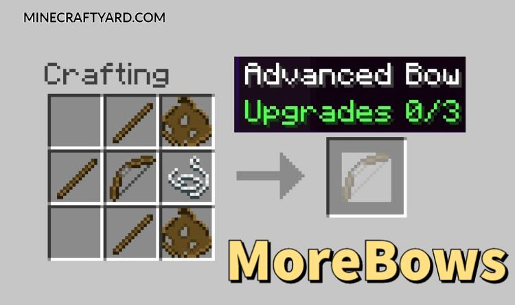 MoreBows Mod 1.16.5/1.15.2