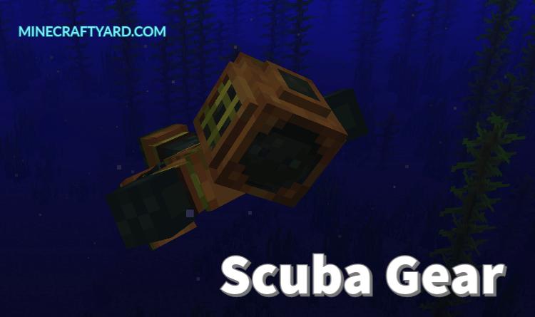 Scuba Gear Mod 1.16.5/1.15.2