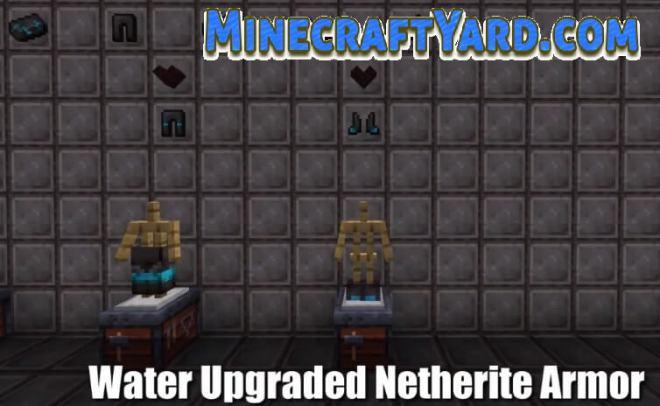 Upgraded Netherite Mod 1