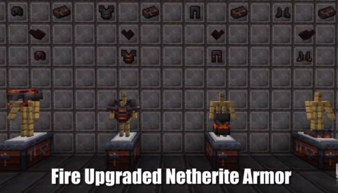 Upgraded Netherite Mod 6