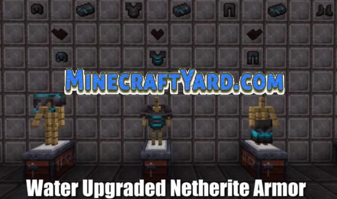 Upgraded Netherite Mod