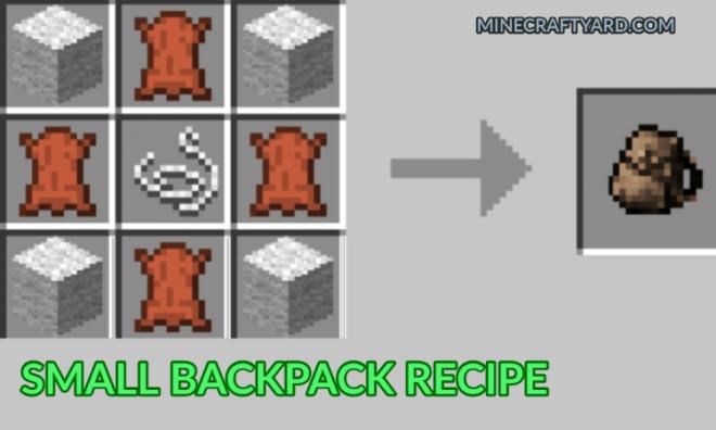Useful Backpacks Mod 1