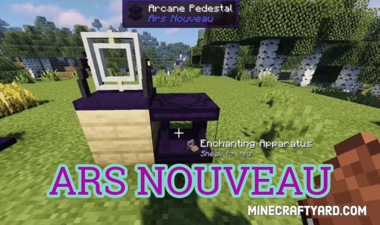 Ars Nouveau Mod 1.16.4