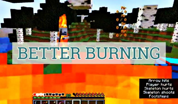 Better Burning Mod 1.16.5