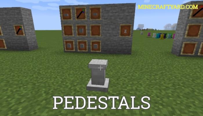 Pedestals Mod 1.16.5