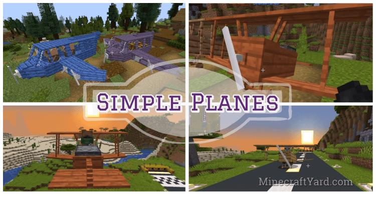 Simple Planes Mod 1.16.5