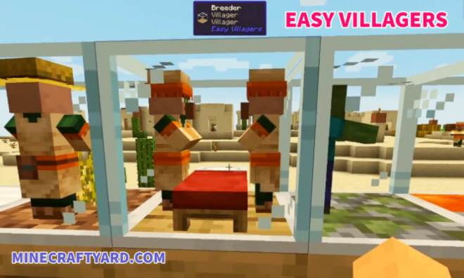 Easy Villagers Mod
