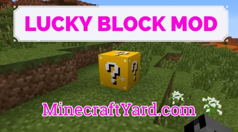 Lucky Block Mod 1.16.5/1.15.2