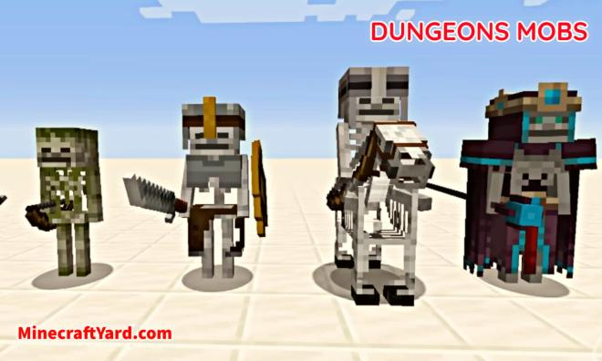 Dungeons Mobs Mod 6