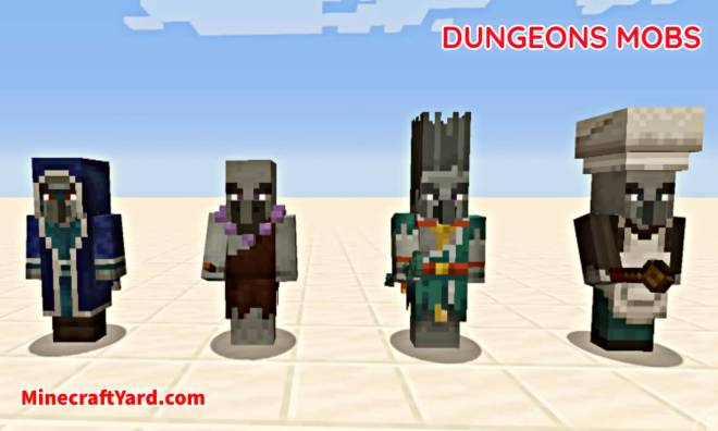 Dungeons Mobs Mod 5
