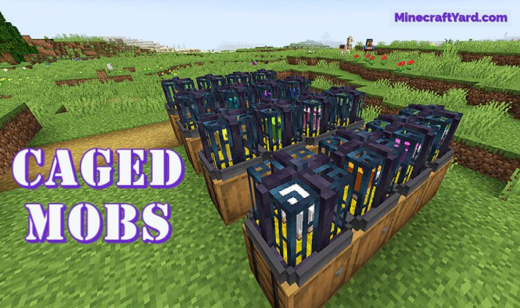 Caged Mobs 1.16.5