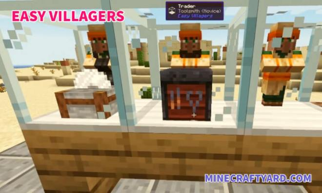 Easy Villagers Mod 3