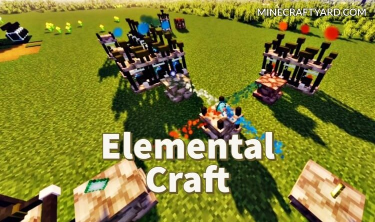 Elemental Craft Mod 1.16.5