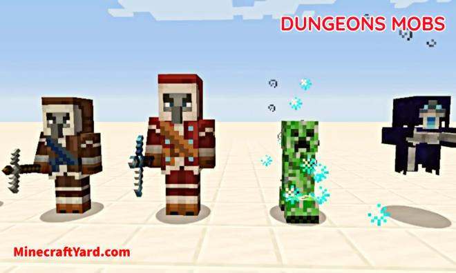 Dungeons Mobs Mod 4