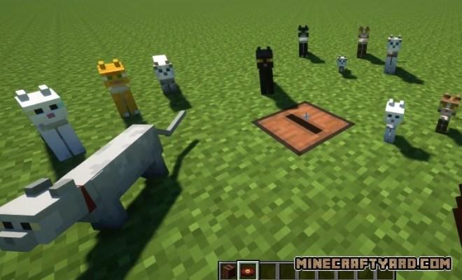 Cat Jammies Mod 1