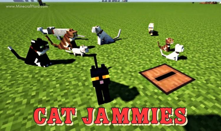 Cat Jammies Mod 1.16.5