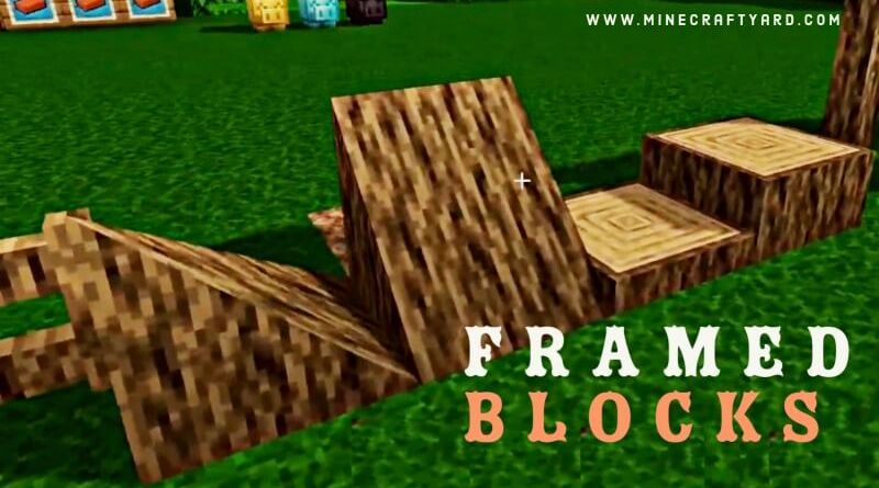Framed Blocks Mod 1.16.5