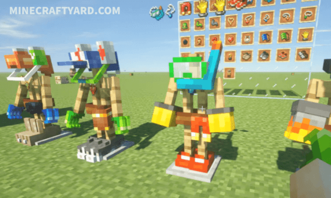 Curious Armor Stands Mod 7