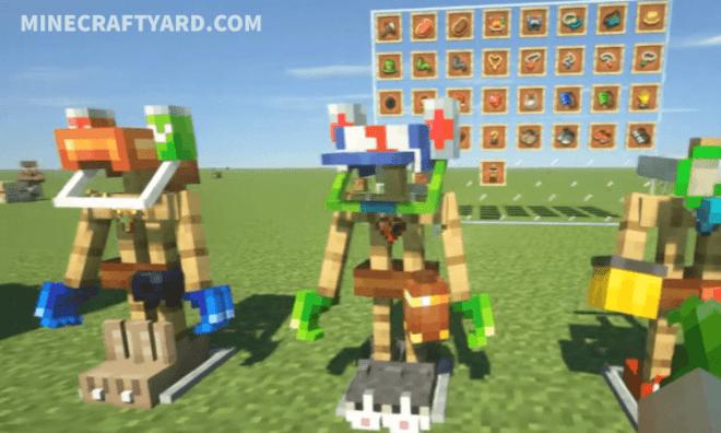 Curious Armor Stands Mod 6