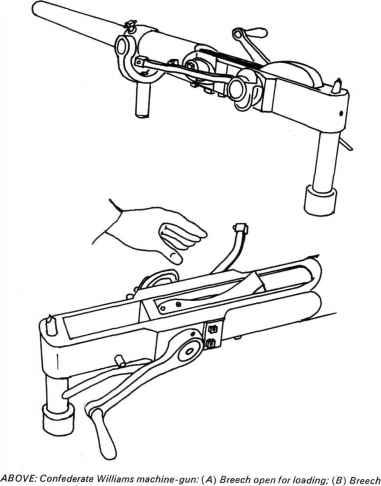 Williams Machinegun 1pounder 1 barrel 125 to 1 57 calibre