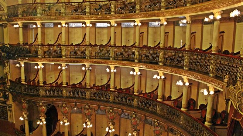 Manaus visita guiada ao Teatro Amazonas
