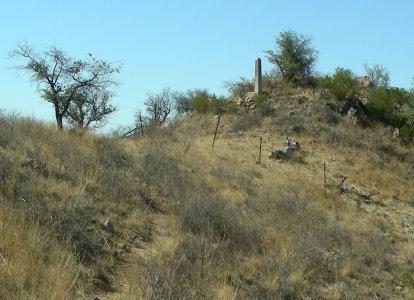 US-MEX boundary marker 130