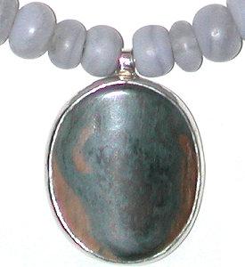 mammoth ivory pendant