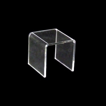 decorative bridge made of acrylic glass 75x75x75mm pont de decoration en verre acrylique