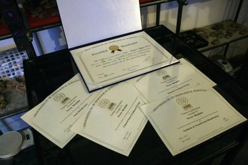 Gemološke diplome