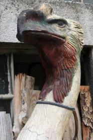 predhistoriska ptica replika