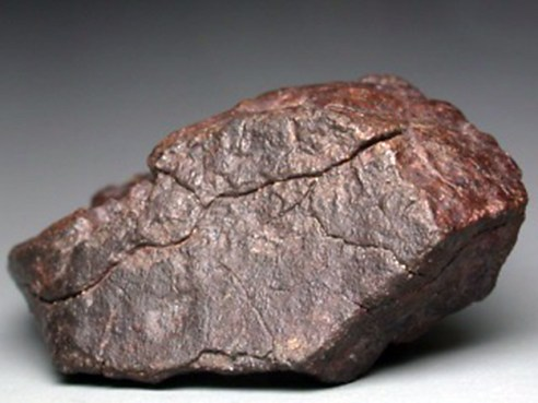 Ispucana kora na meteoritu