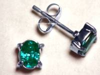 Genuine Alexandrite Earrings - Jewelry FlatHeadlake3on3