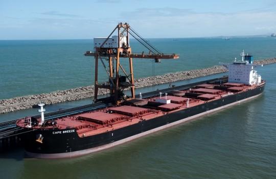 Vale registra producción histórica de mineral de hierro en el tercer trimestre